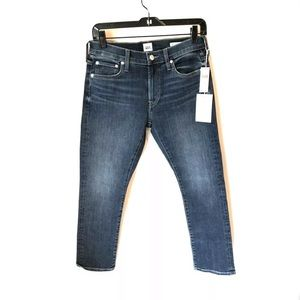 NWT $148 Edwin Anthro Jamie Boyfriend Jeans Stax